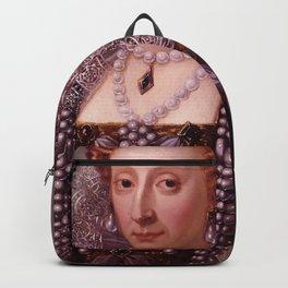 Portrait of Queen Elizabeth I Backpack