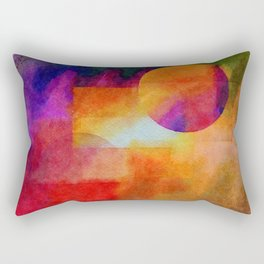 Planets in the Void - or... Rectangular Pillow