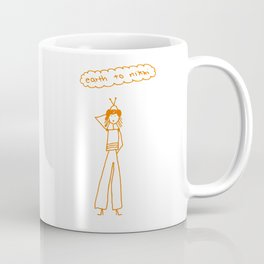 Earth to Nikki Coffee Mug