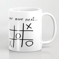 xoxo Mugs featuring XOXO by Svetlana Sewell