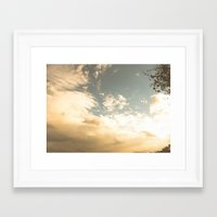 celestial Framed Art Prints featuring Celestial by Erin McClain Studio