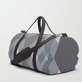 Confused Argyle in teal and rose - you might be drunk Duffle Bag
