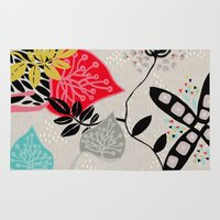 rio Area & Throw Rugs featuring RIO 004 by Maca Salazar