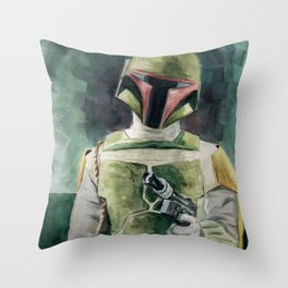 He's worth a lot to me. Throw Pillow