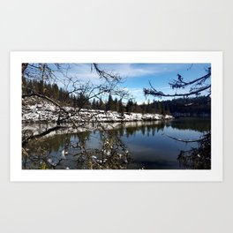 Lake Britton Art Print