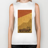 adventure Biker Tanks featuring Adventure by barmalisiRTB