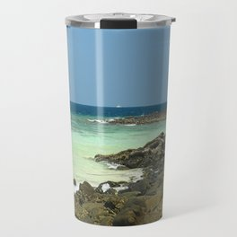 Banana beach, Koh Hey isand, Thailand Travel Mug