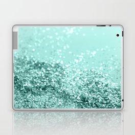Summer Vibes Glitter #7 #mint #shiny #decor #art #society6 Laptop & iPad Skin