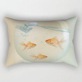 balloon fish 02 Rectangular Pillow