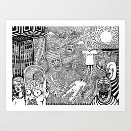 Real World Art Print