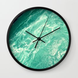 Rushing Madness Wall Clock