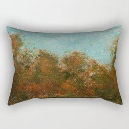 Late Summer Trees Rectangular Pillow