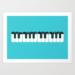 The Choir of Antarctica Art Print