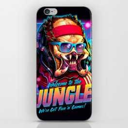 Welcome to the Jungle iPhone Skin