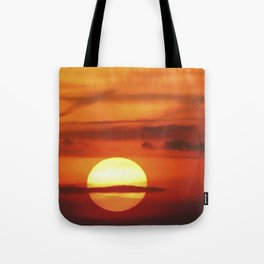 Sunset at Devil's Dyke (UK) Tote Bag