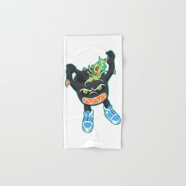 Thai Green Papaya Salad Kaiju Monster Hand & Bath Towel