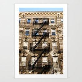 Alphabet City Art Print