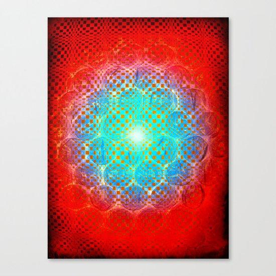 Alien Egg Cluster Canvas Print