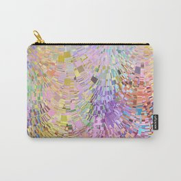 Easter Egg Square Wave Carry-All Pouch