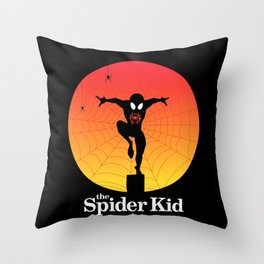 The Spider Kid Throw Pillow