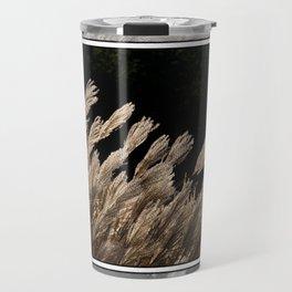 YAKU JIMA GRASS IN BACKLIT SUN Travel Mug