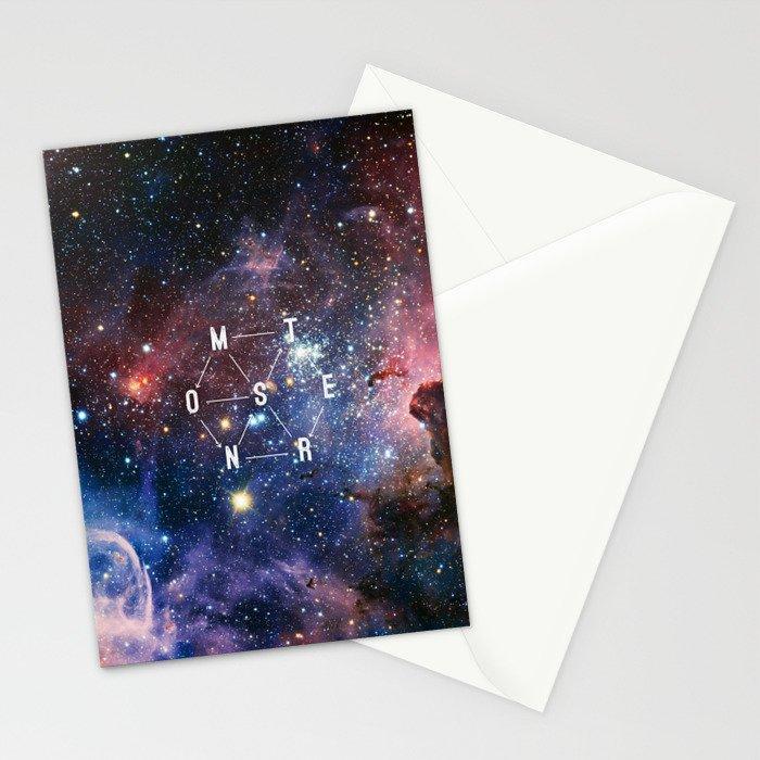 Monster - EXO inspired Stationery Cards