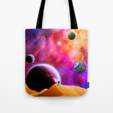Space Solitude Tote Bag