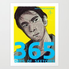 365 Days of Sketches #129 Art Print