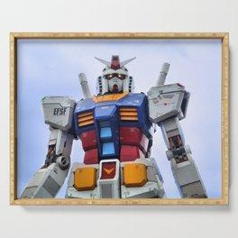 Gundam Stare Serving Tray