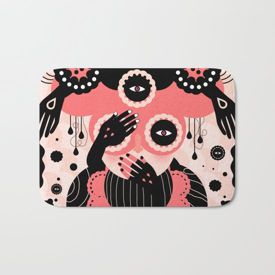 Hallucination Bath Mat