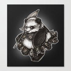 Panda's Day Off Canvas Print