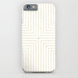 Converge Three Gold iPhone Case