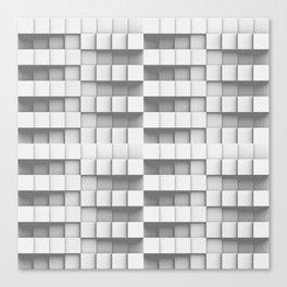 Simple Whitey Canvas Print