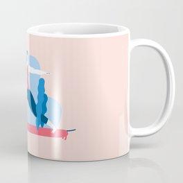 Yoga Girls 1 The She Warrior Pose Coffee Mug