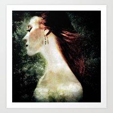 Of Dark Waters Art Print