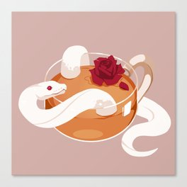 Rose Tea Canvas Print