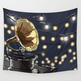 Music Outside Wall Tapestry