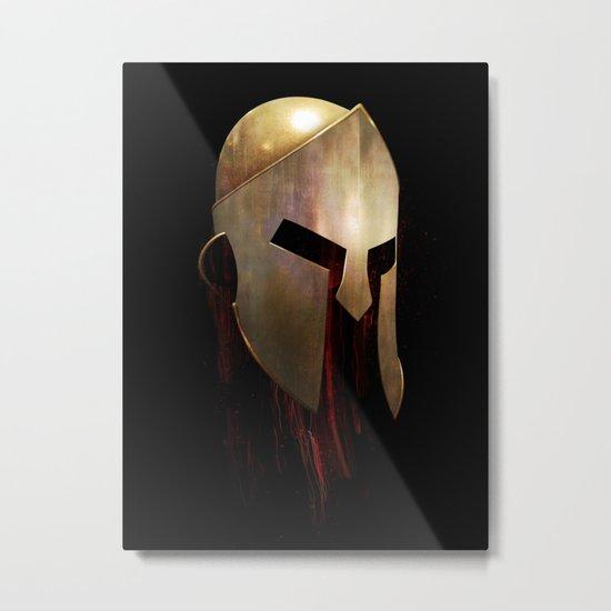 The Last Spartan Metal Print