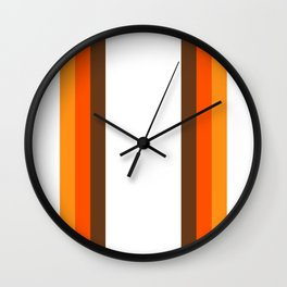 Harvest Rainbow - Straight Wall Clock