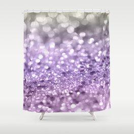 Purple Lavender Glitter #1 #shiny #decor #art #society6 Shower Curtain