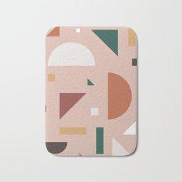Abstract Geometric 31 Bath Mat