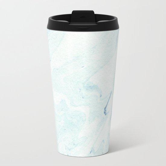 Minimal Marble #society6 #buyart #decor Metal Travel Mug