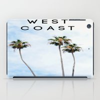 west coast iPad Cases featuring West Coast Palms by ktyphoto