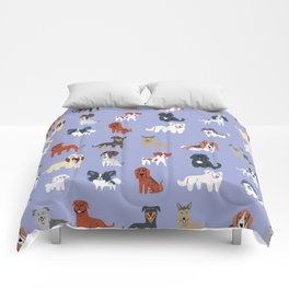 FRENCH DOGS Comforters