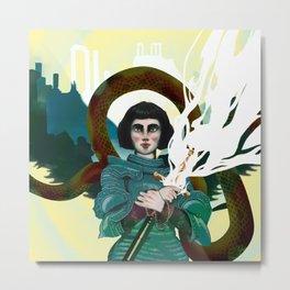 Juana de Arco Metal Print