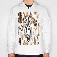baroque Hoodies featuring Baroque music by Carolina Duran