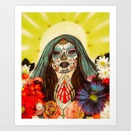 Pray for me Art Print