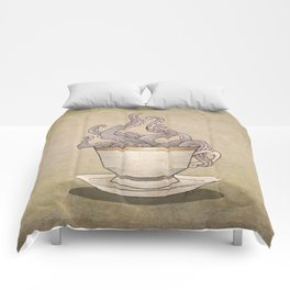 Tentacles in a Teacup Comforters