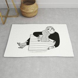 Black & White / Sassy Badass Rug