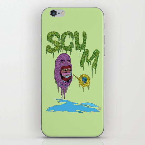 Scum iPhone & iPod Skin